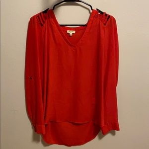 Red blouse | L